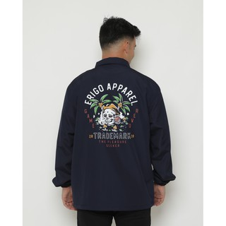 Erigo Coach Jacket Pleasure Navy
