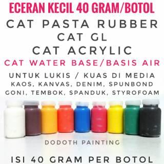 Cat Pasta Rubber Gl Cat Akrilik Cat Textile Sablon Dan