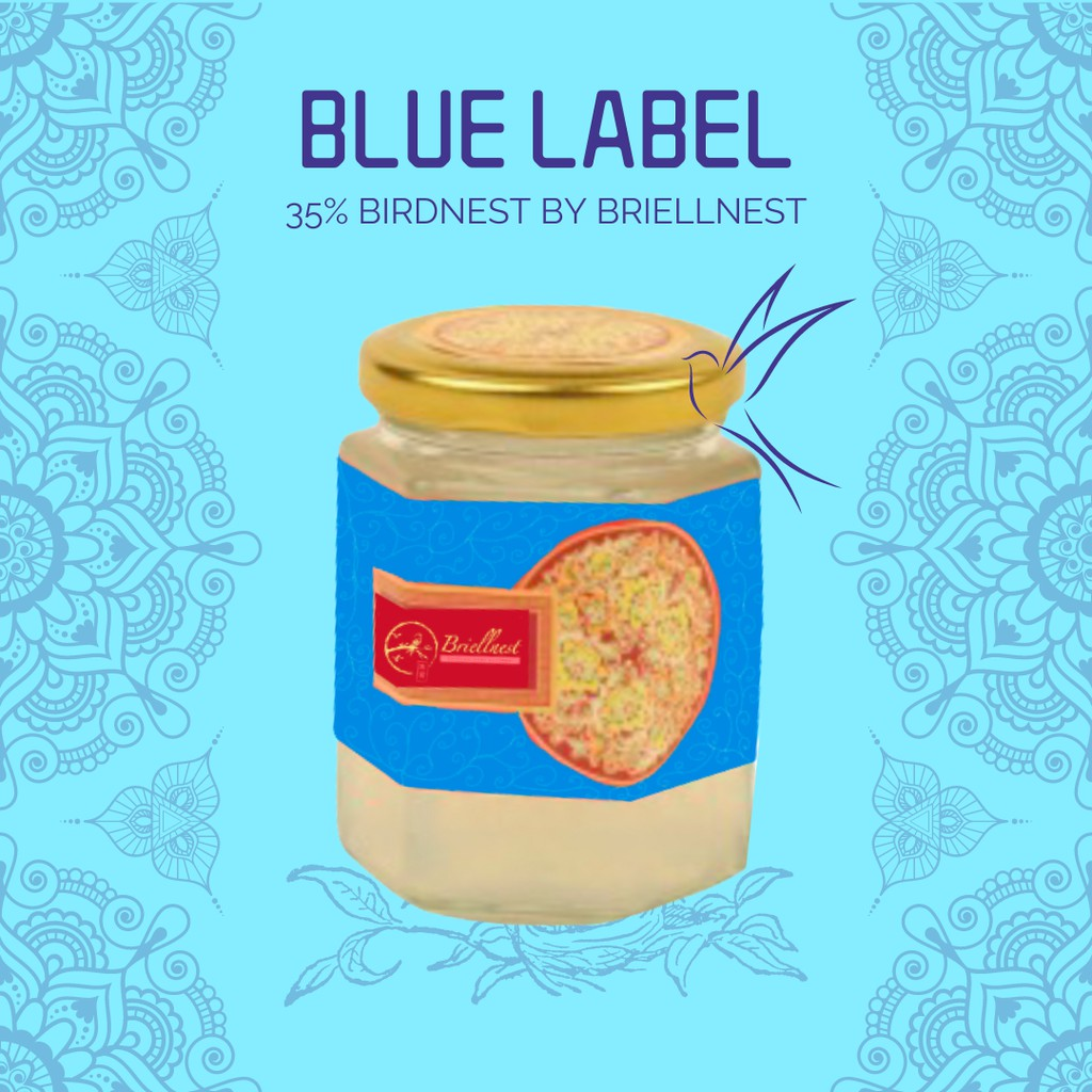 BLUE LABEL Briellnest Jar 200ml