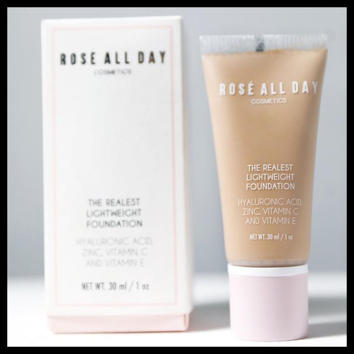 Baru Rose All Day The Realest Lightweight Foundation In Light | Shopee Indonesia