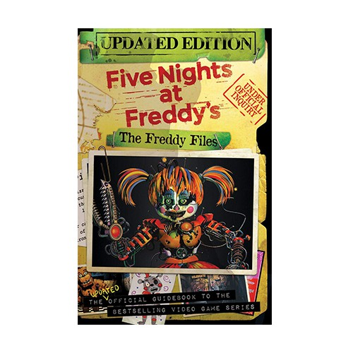 The Freddy Files Updated Edition Five Nights At Freddys Shopee Indonesia