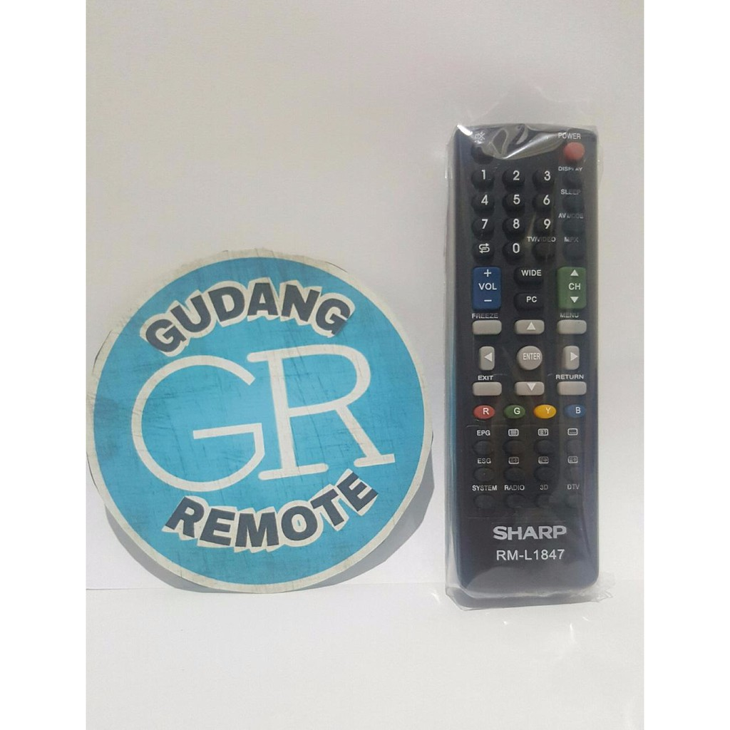 Remote Tv Sharp Led Lcd Pendek 24 Inch Aquos Hd Hitam Lc 24170i Terbaru Terbaik Tahan Lama Awat Joss 24le170i Murah Baru New Kualitas Shopee Indonesia