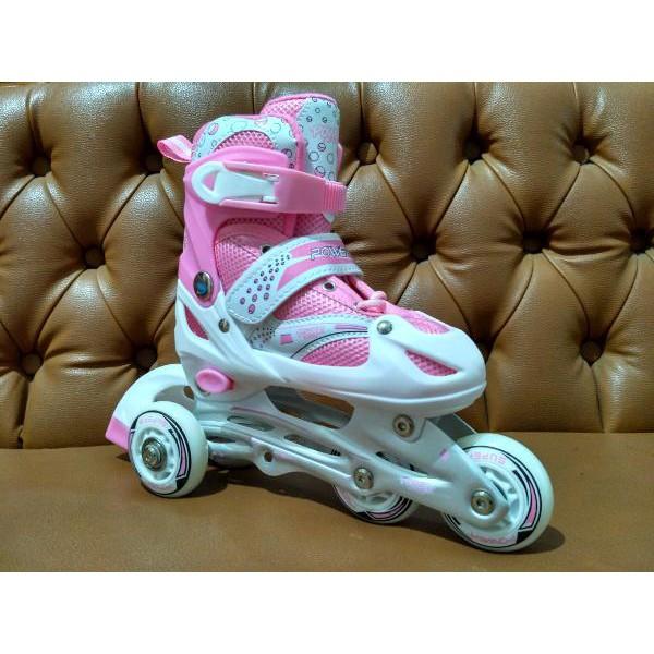 Sepatu roda power super b SML GROSIR MANTAP  ffaa4a0920