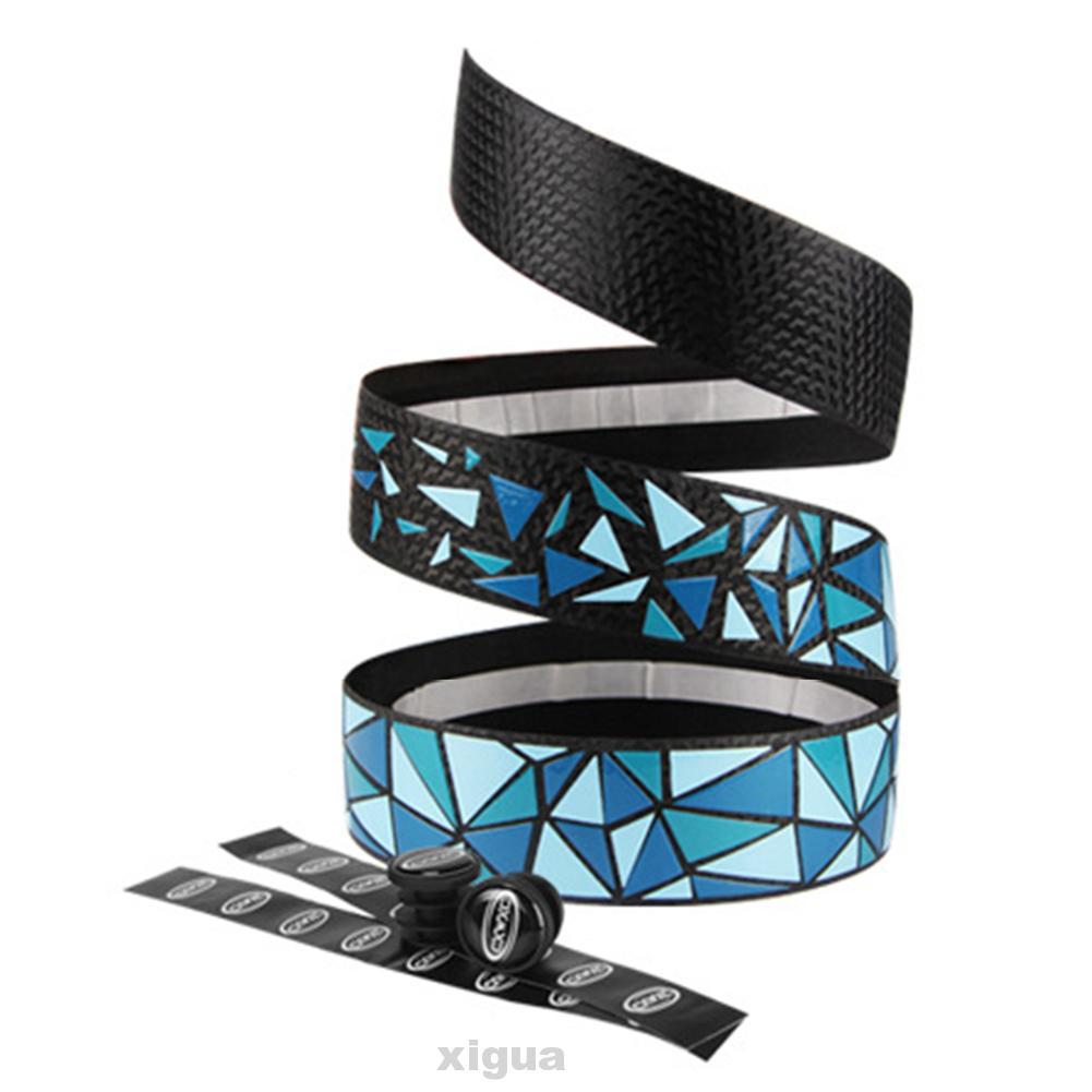 2M Carbon fiber bicycle handle belt bike coaster non-slip shock absorber strap