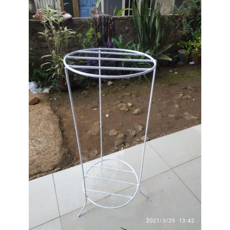 60x25 / Rak Bunga Eksklusif Model / Rak Bunga Minimalis / Rak Bunga Elegant / Pot Besi / Rak Bunga