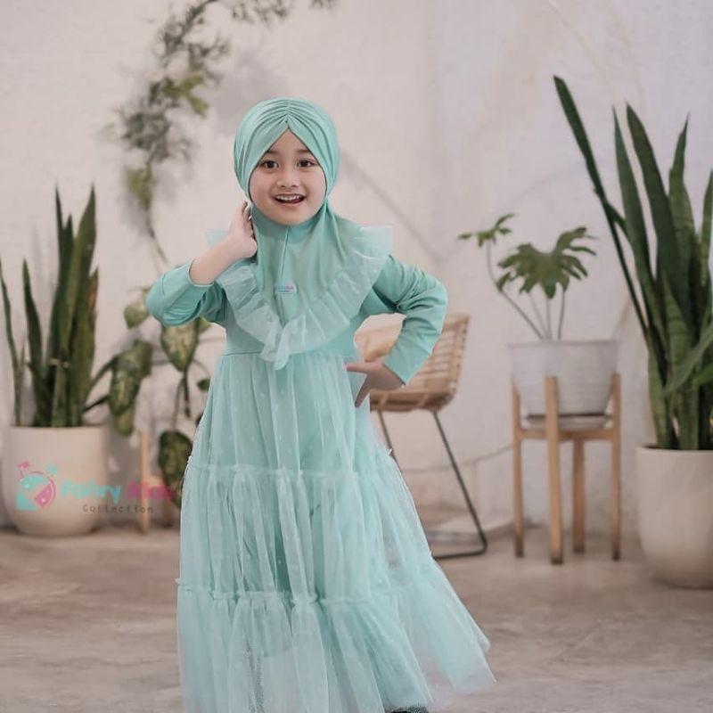 Gamis Tutu Fahri Kids 3-8 tahun
