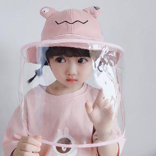 Topi Kupluk Katun Lembut Lucu Anak Laki Laki Perempuan Dapat Dilepas Gambar Kartun 51cm Shopee Indonesia