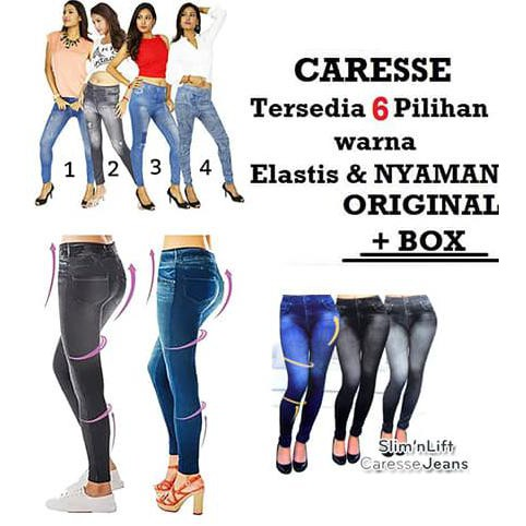Slim n lift caresse jeans ...