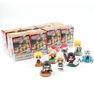 Boruto Naruto Next Generation Shodai Senju Hiruzen PVC Keychain Figure Model Toy