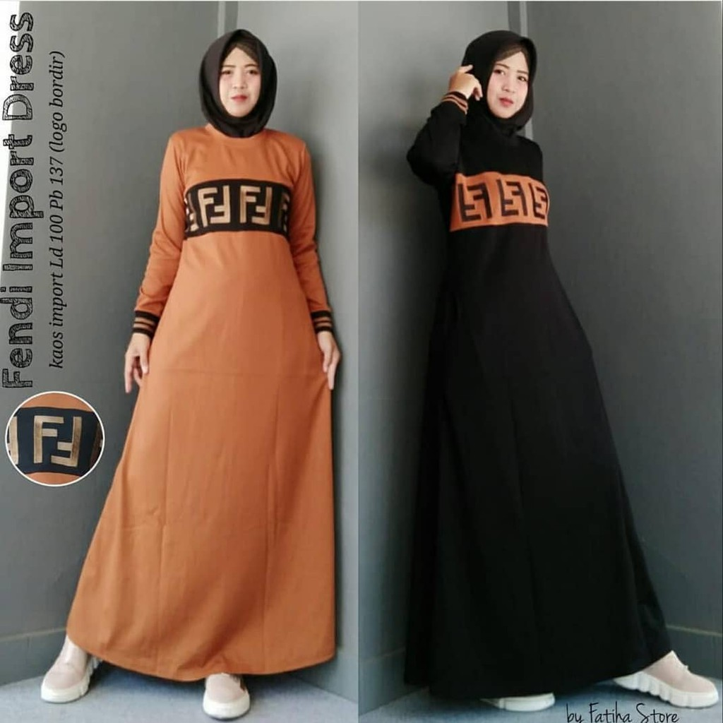 BAJU ANAK RENATA KIDS DRESS Gamis Anak Baju Dress Muslim Ngaji Murah Lengan  Panjang Perempuan Girl  dd065de8d4
