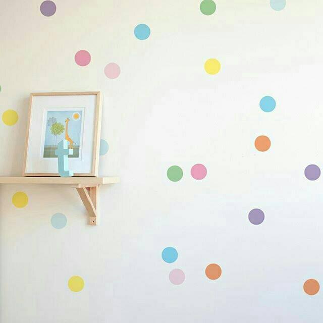 Walldecals Dot Mix