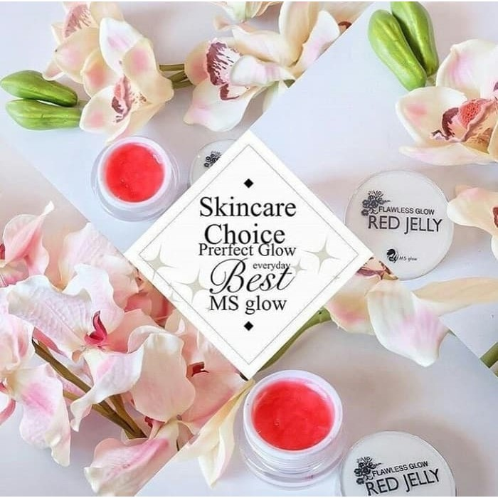 RED JELLY BPOM BY MS GLOW - JELLY GLOWING SUPER ORIGINAL | Shopee Indonesia
