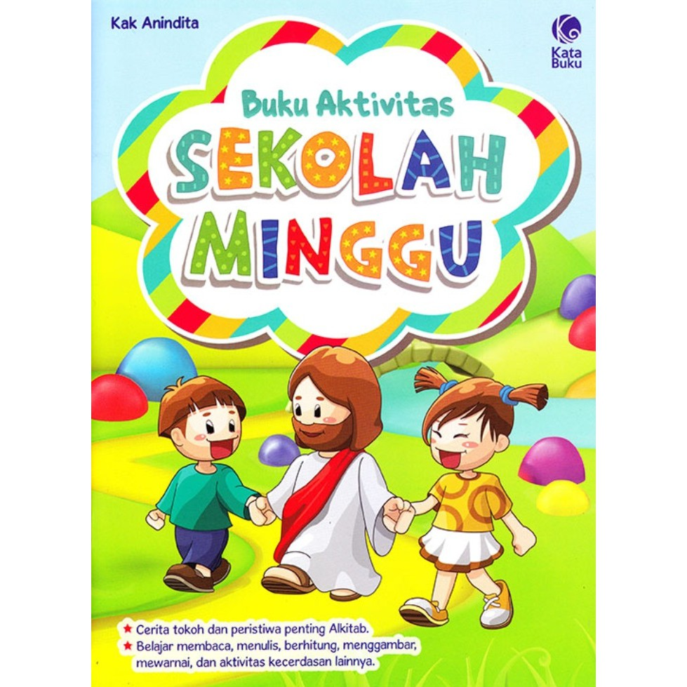 Buku Aktivitas Sekolah Minggu Buku Kristen Shopee Indonesia