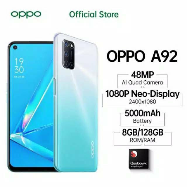 Oppo A92 2020 8 128 Kredivo Akulaku Kartu Credit Shopee Indonesia