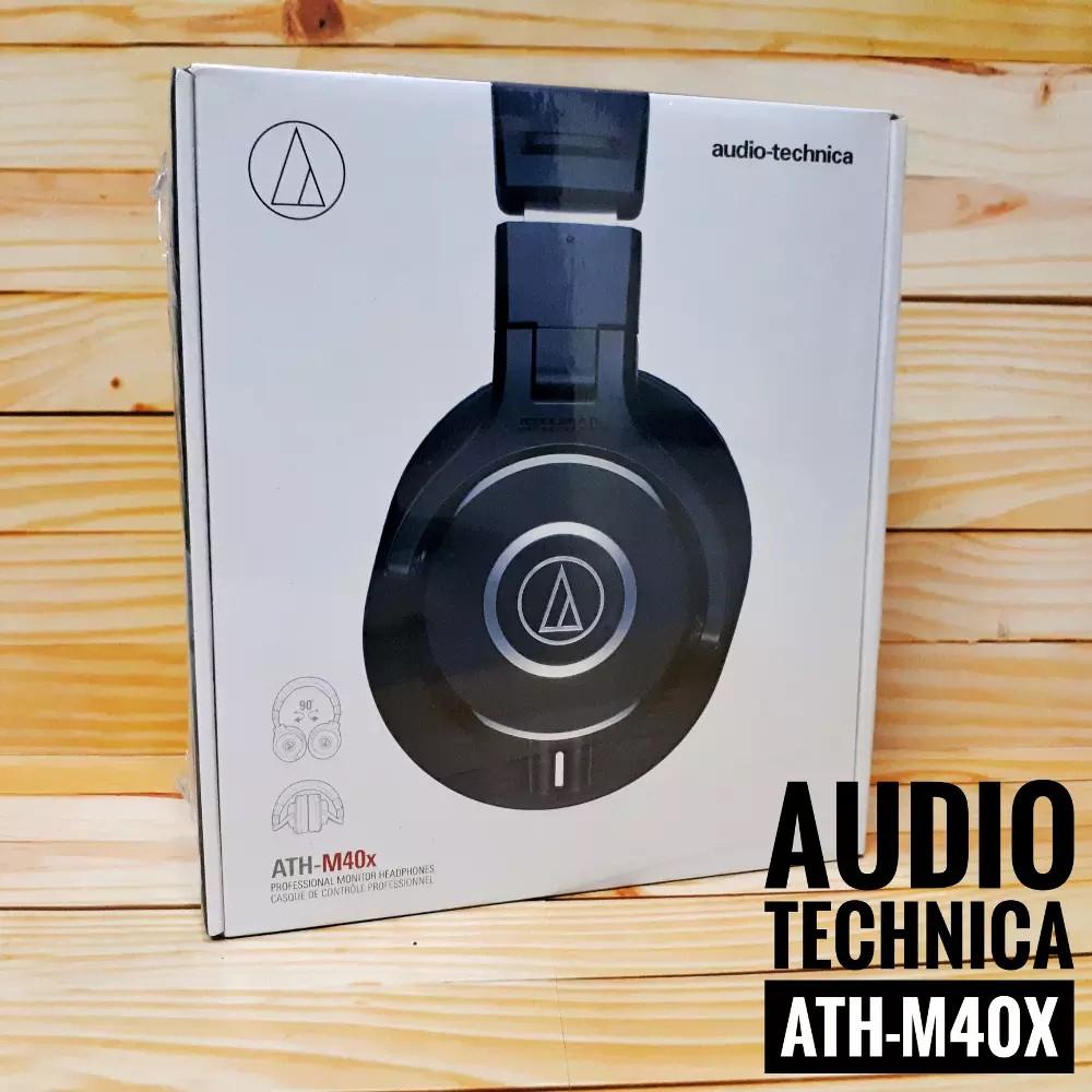 Audio Technica ATH M40X Headphone Studio Mo
