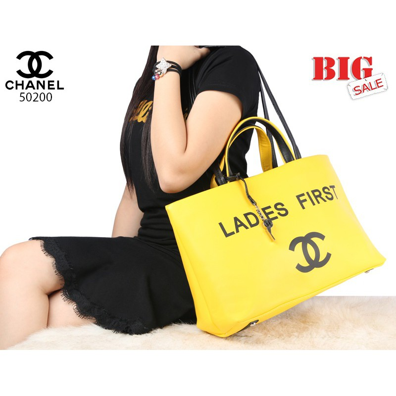715b44e920f7 New CHANEL Ladies Timeless Classic Tote bags | Shopee Indonesia