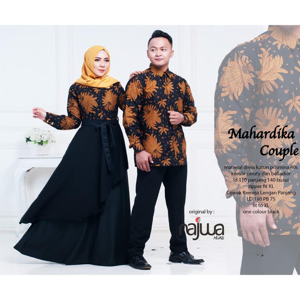 Dapatkan Harga couple batik Fashion Muslim Diskon  55ce4dcfc1