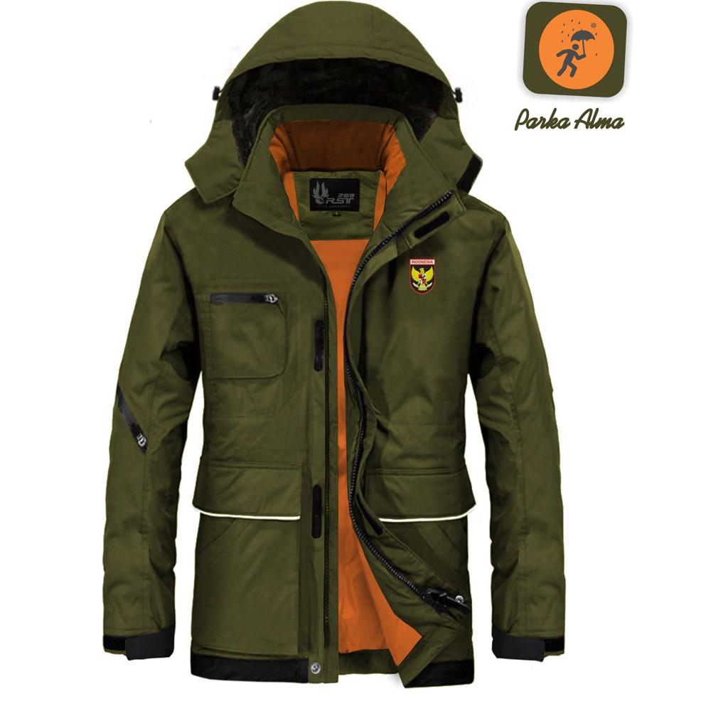 Jaket   Premium   Waterproof Conmebol Army Brown - Hoodie  62b5bd38a5