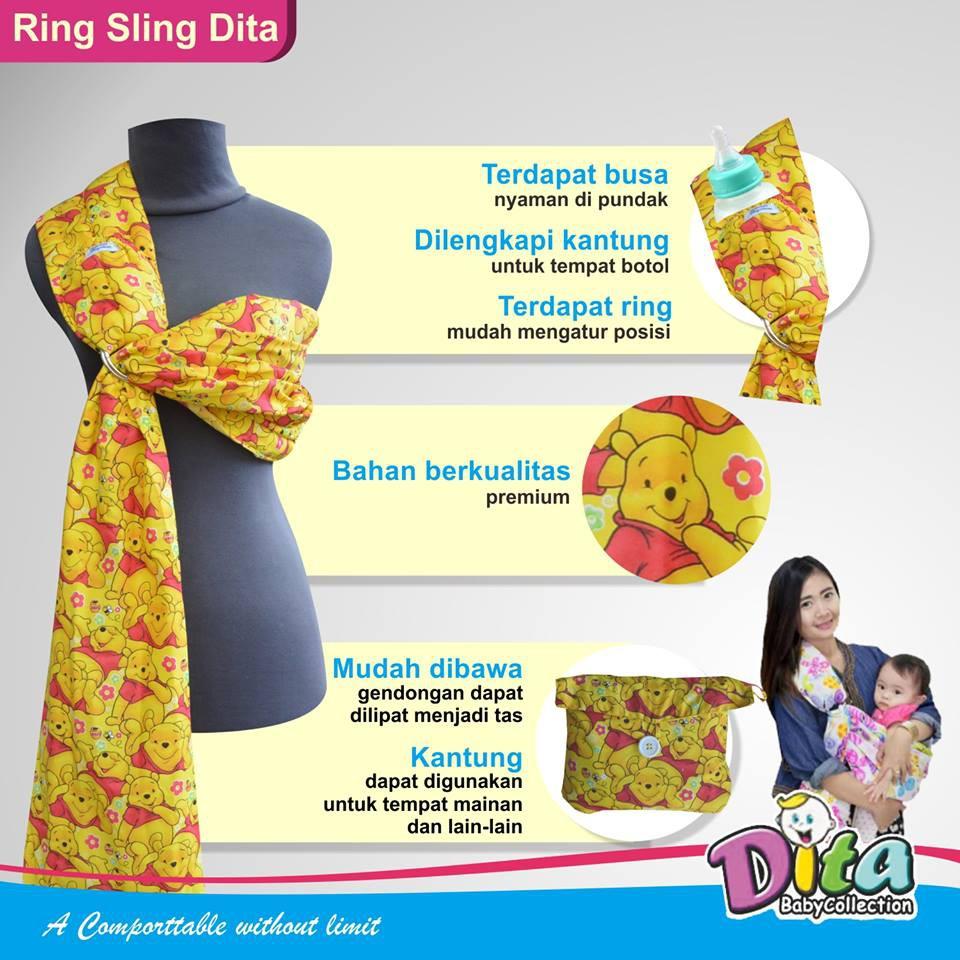 GENDONGAN BAYI RING SLING UTUH (tanpa celah)BABY AL polos | Shopee Indonesia