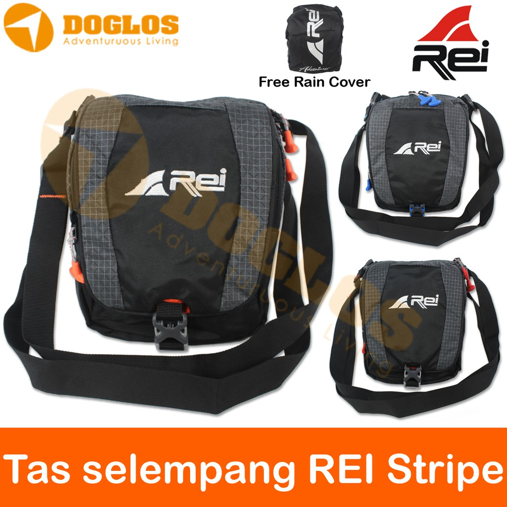 Tas Selempang Rei Themys Gunung Outdoor Hiking Travel Pouch Shopee Eiger 1989 Pac It Simple 10 Ol 2l Brown Indonesia