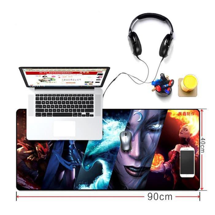 ... Series Mouse Pad Gaming G Lebar 45 X 35 Cm Biru Source. Steel ...