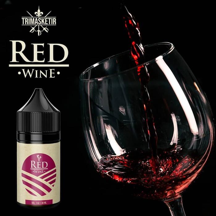 Red Wine 12mg Freebase LIQUID KHUSUS PODS