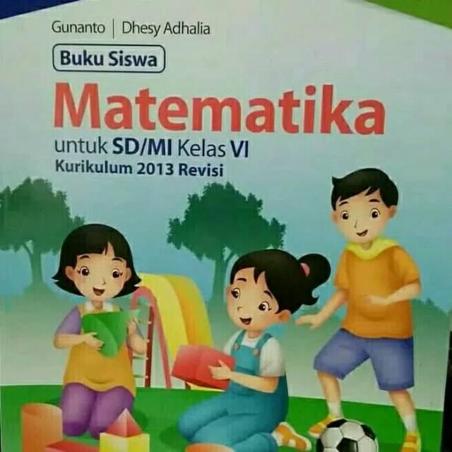 Buku Matematika Kelas 6 Erlangga Ilmusosial Id