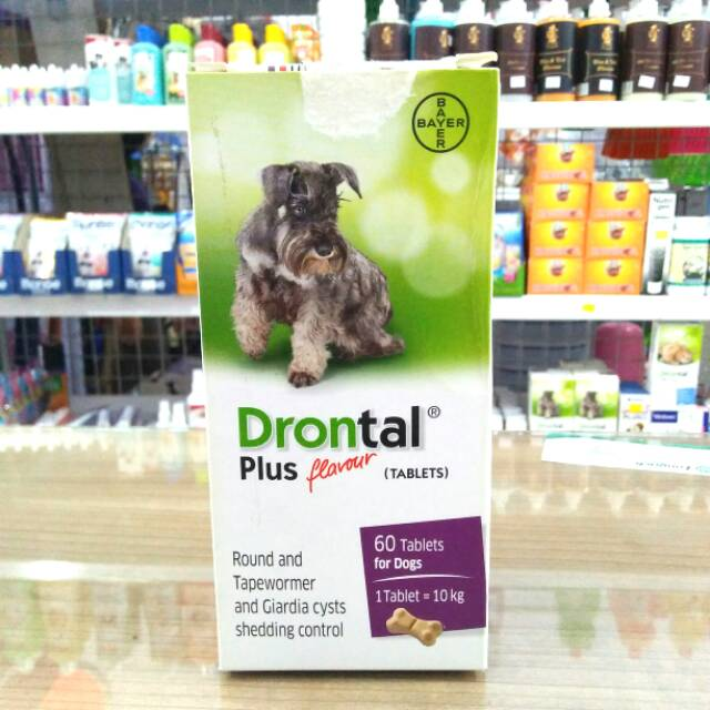 Drontal Dog Obat Cacing Anjing Shopee Indonesia