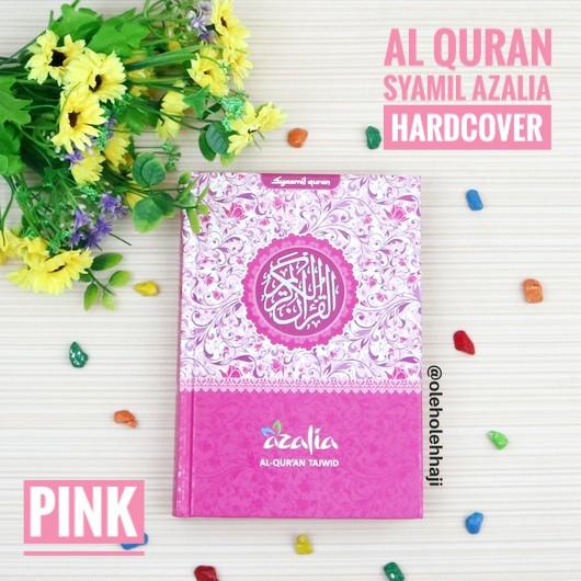 Al Quran Terjemahan Syaamil Azalia Al Quran Rainbow Al Quran Jaket Agenda Oleh Oleh Haji Umroh Shopee Indonesia