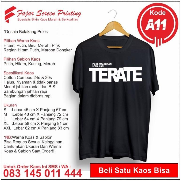 Kaos Psht Distro Sh 1922 Terate Ahter Pashter Shopee Indonesia