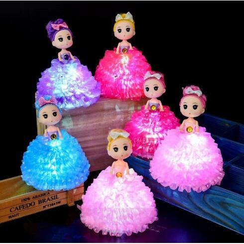 Mainan Boneka Barbie Dengan Lampu Led Untuk Hadiah Shopee Indonesia