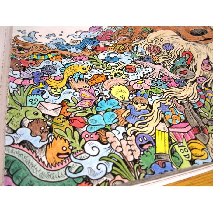 Art Therapy Animorphia Buku Mewarnai Int L Bestseller Anti Stress Gramedia Pustaka Utama