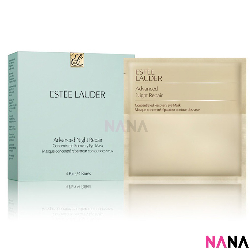 Estee Lauder Advanced Night Repair Concentrated Recovery Eye Mask 4pcs Shopee Indonesia