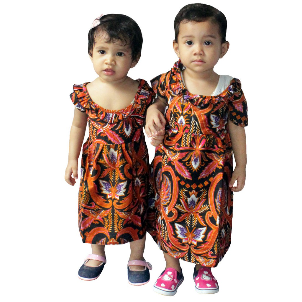 Dress Batik Anak 2afa4b6895