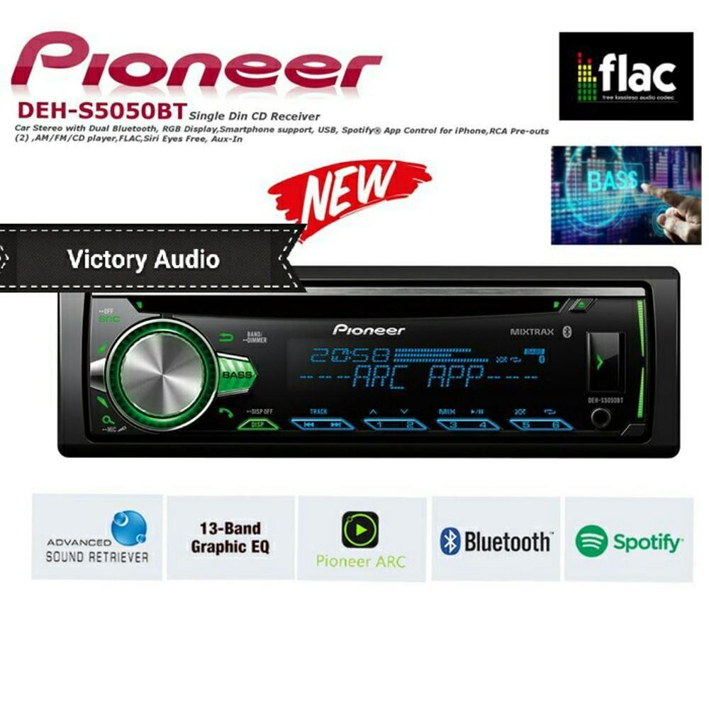 Pioneer Deh S5050bt Bluetooth Single Din Tape Mobil Audio S5050 Head Unit Sansui Sa5202i Fully Hd Garansi Bt Dehs5050bt Shopee Indonesia