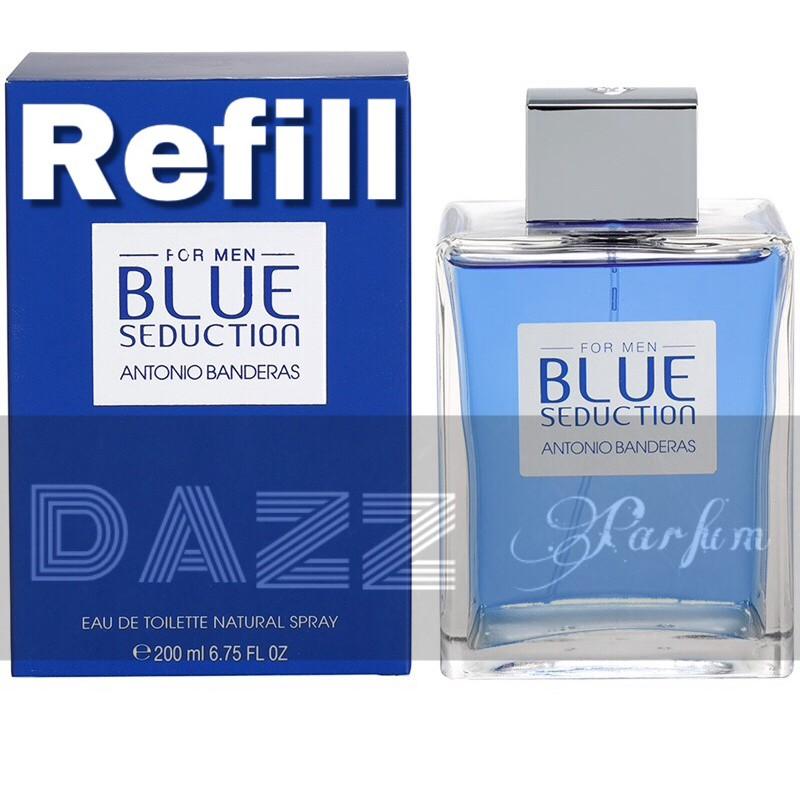 Parfum Refill Antonio Banderas Blue Seduction For Man