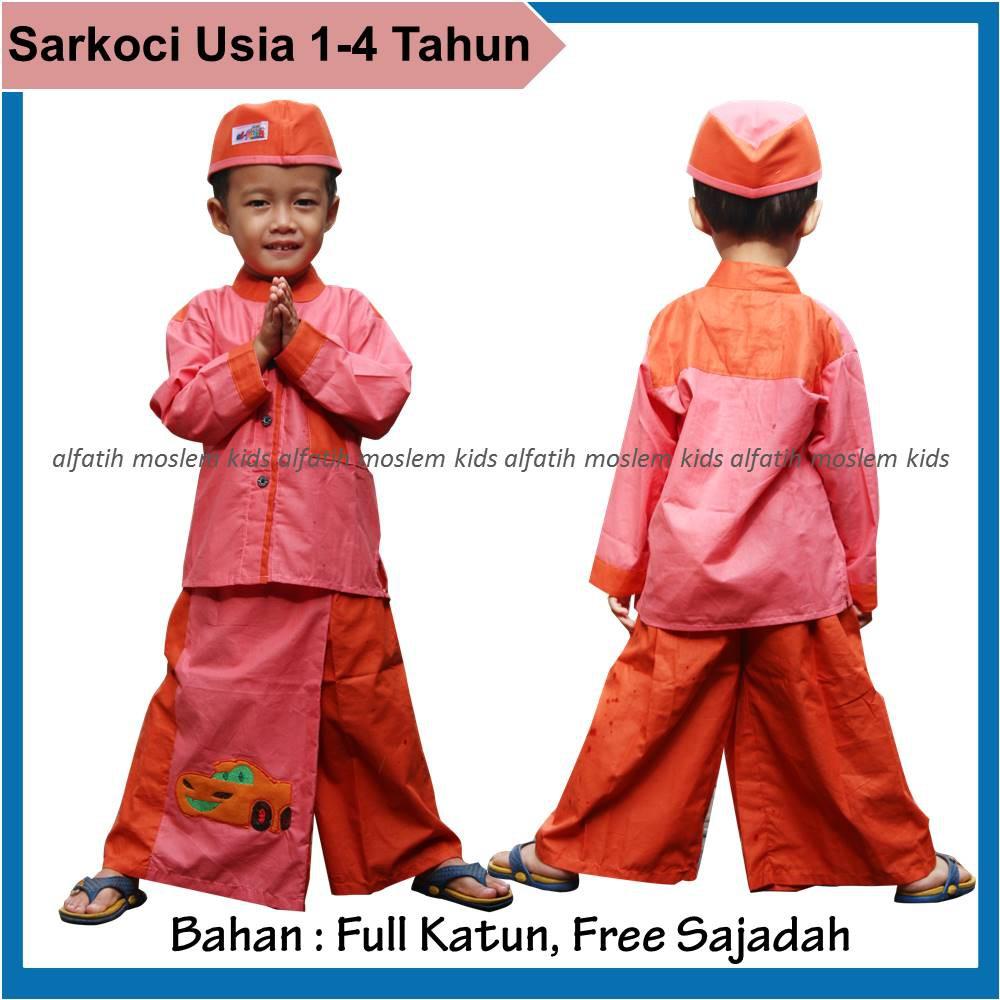 Zillakids Baju Muslim Anak Laki Sarung Celana Koko Peci Sarkoci Piyama 1 4tahun Sarcelkoci Tahun Shopee Indonesia