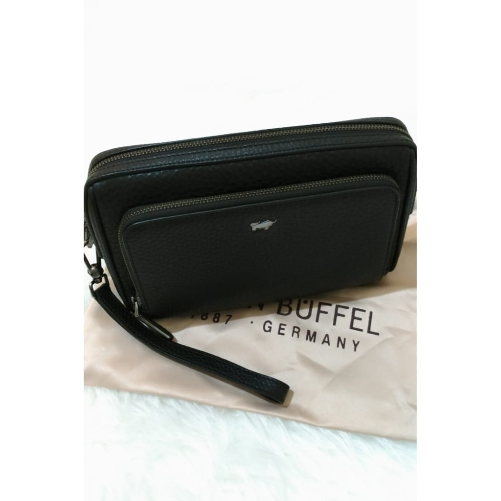 Terbaru Tumi Alpha Leather Organizer Travel Clutch In Black Termurah Premium Quality Shopee Indonesia