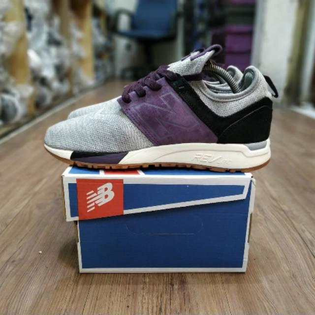 Sepatu New Balance 247 Luxe Grey Purple BNIB sepatu NB 997 Newbalance Sepatu sneakers pria Kasual