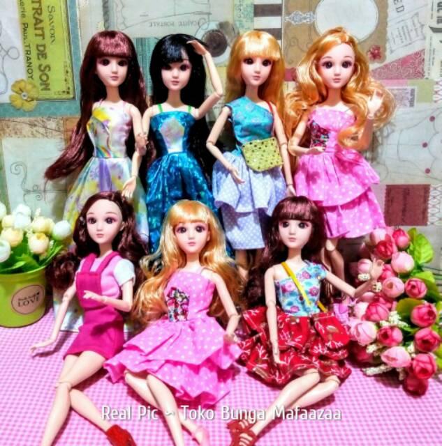 Boneka Barbie KW Murah Selusin  3758b89490