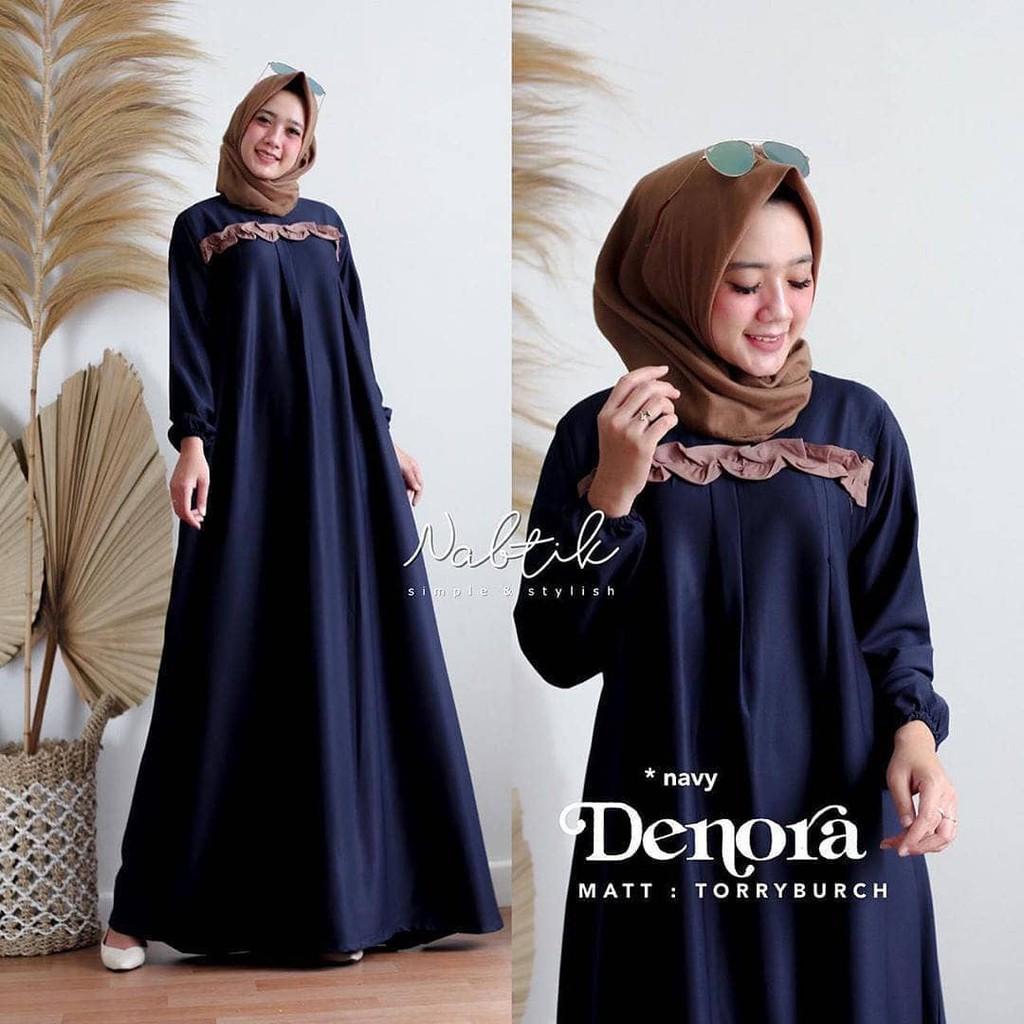 DENORA DRESS Baju Gamis Wanita Muslimah Terbaru 11 Gamis Muslimah Trendy  Kekinian Termurah