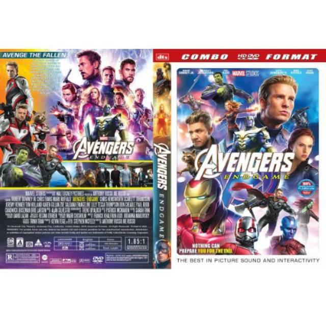 Kaset Dvd Film Avenger Endgame Subtitle Indo Shopee Indonesia