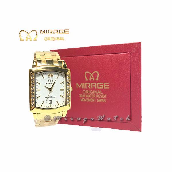 Mirage Original Jam Tangan Wanita 7569L Black Rosegold pH  d4984572ab