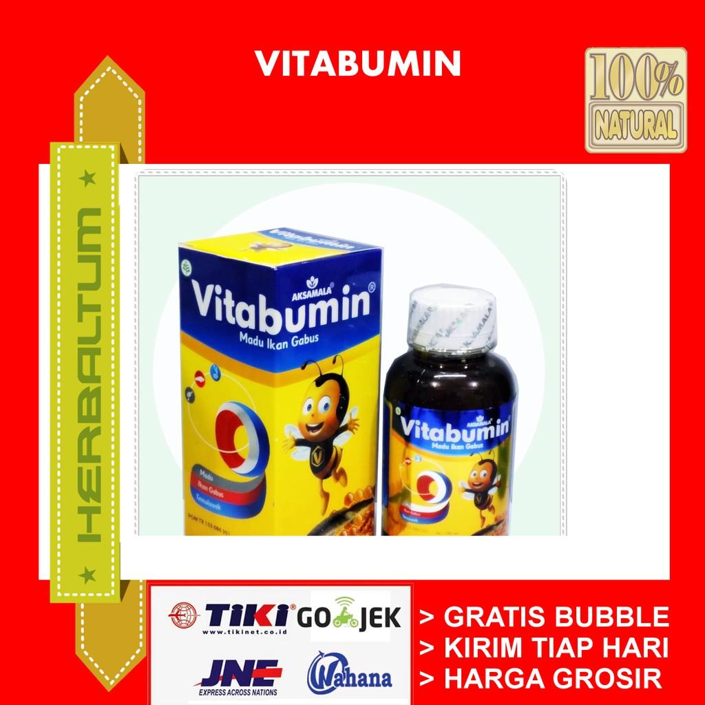 Vitabumin Original Izin Bpom Madu Ikan Gabus Vitamin Anak Plus Minyak Asli Shopee Indonesia