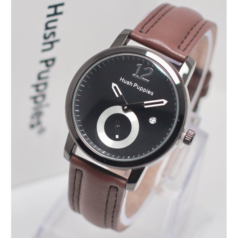 Best Item! Jam Tangan Pria Hush Puppies Assasin Leather Dark Full ... c50cc46311