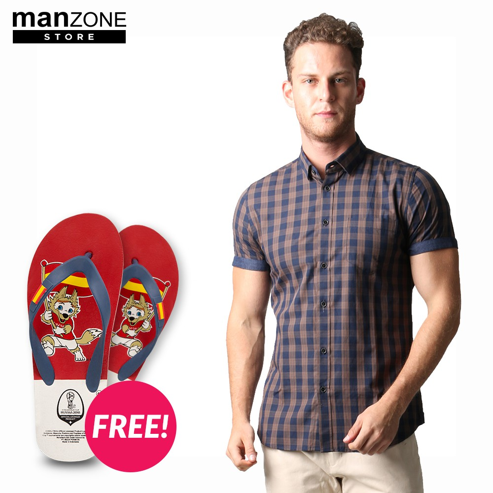 Toko Online Manzone Official Shop Shopee Indonesia Statement Celana Panjang Navy 29