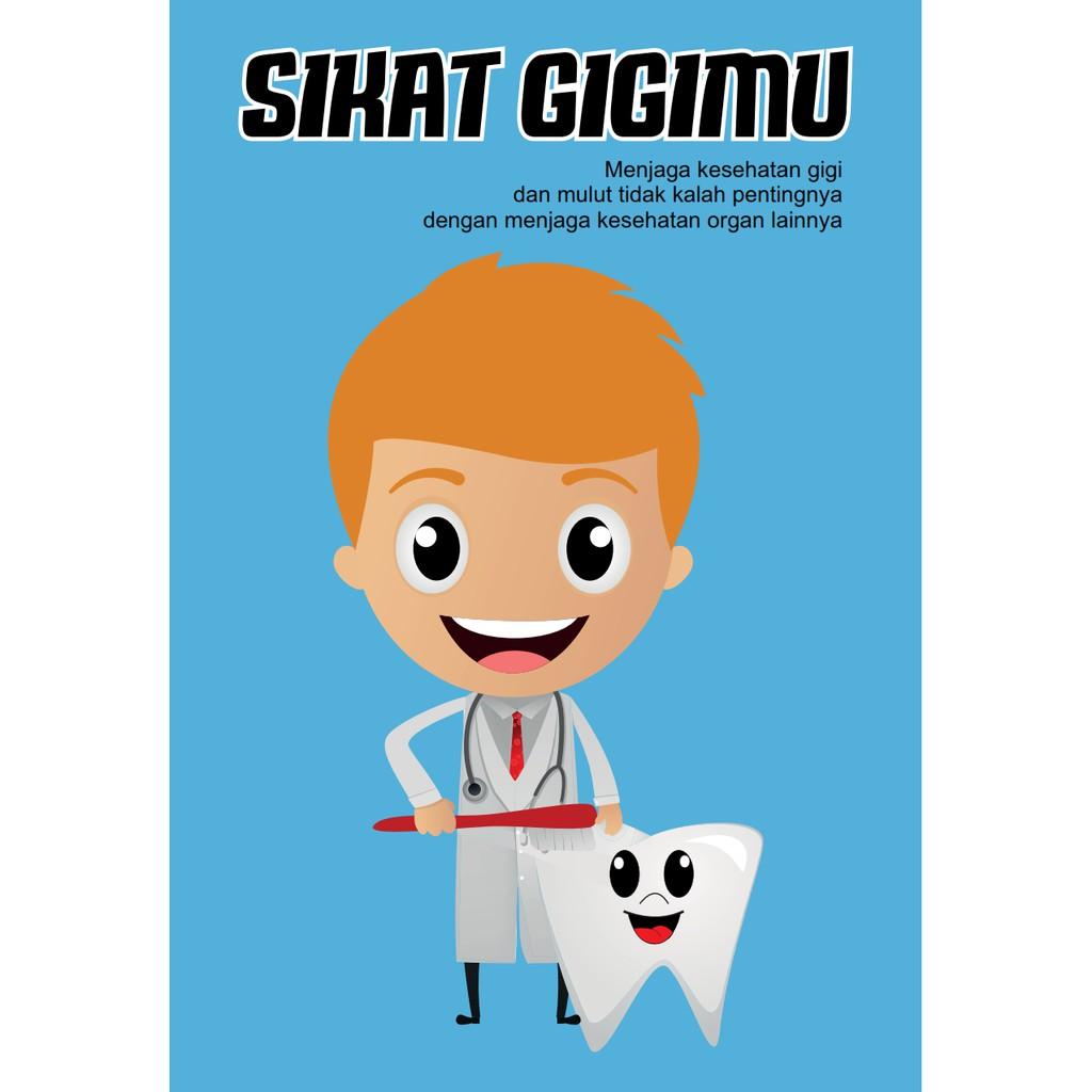 26+ Kumpulan Gambar Poster Tentang Kesehatan Gigi Terkeren ...