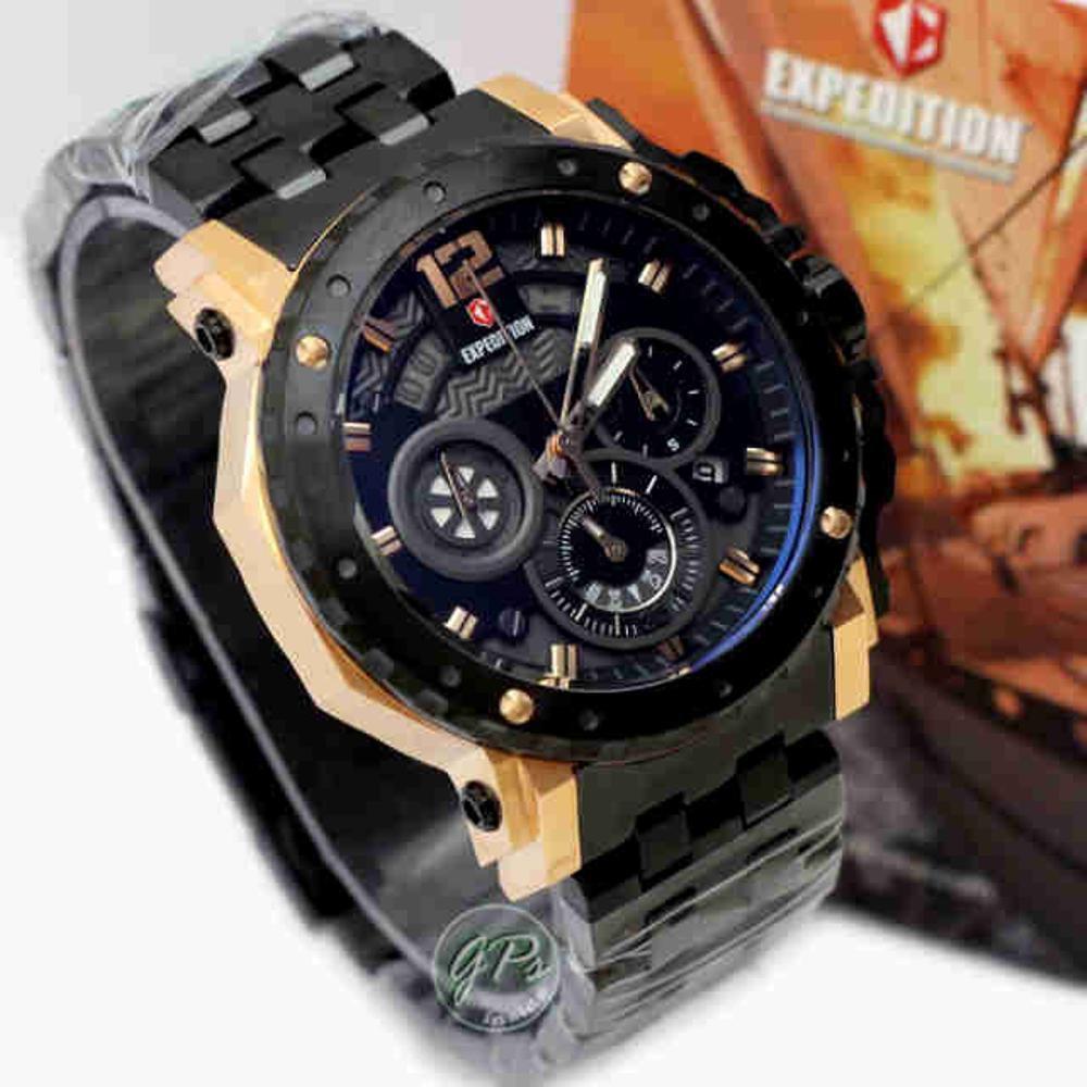 Expedition E 6402 Cokelat Rosegold Daftar Harga Termurah Dan E6694 Dual Time Full Black Original Gfj E6402 Couple Brown Leather Jam Tangan Shopee Indonesia