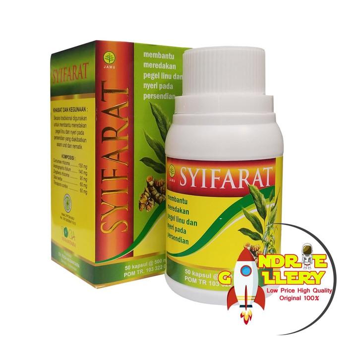 Dijual Herbal Kapsul Syifarat Untuk Obat Asam Urat Reumatik Pegel Linu Sendi Jamin Murah | Shopee