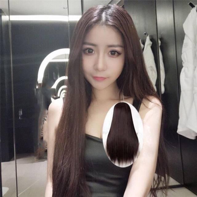 Wig Panjang Wig Tanpa Poni Wig Lurus Wig Smoothing Rambut Palsu Shopee Indonesia